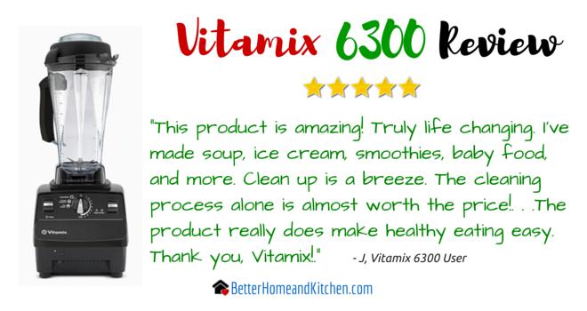Vitamix 6300 J Customer Review