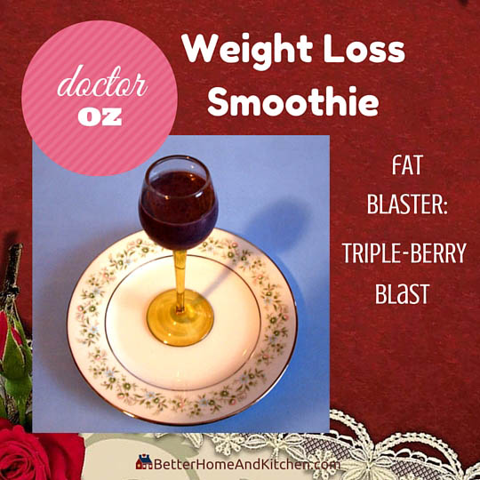 Triple Berry for fat burning